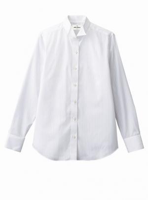 ウイングカラーシャツ(女性用)