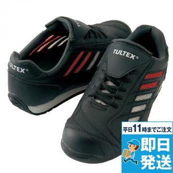 [タルテックス]安全靴(サイド6本メッシ