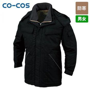 [コーコス]作業服 軽量・製品制電防寒コ