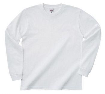 ヘビーウェイトオープンエンド長袖Tシャツ