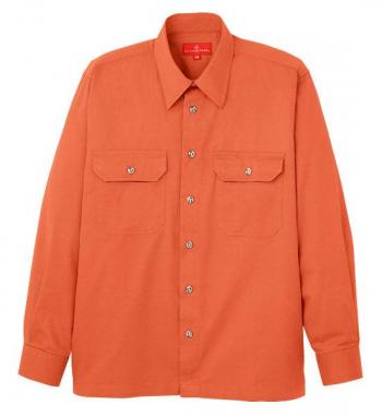 コンパクトヤーン長袖シャツ