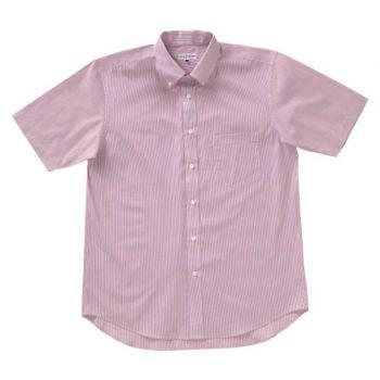 [クロダルマ]作業服 ボタンダウン半袖シ