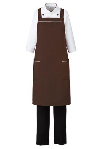 ブラウンの着用例