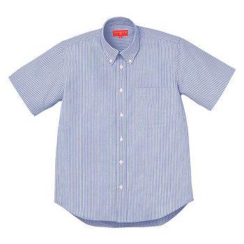 ロンドンストライプBD半袖シャツ
