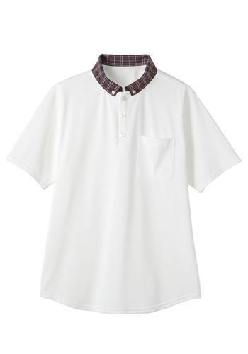 [サンペックス]飲食 ニットシャツ(ボタ