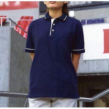 [サンエス] 半袖ポロシャツ(男女兼用)