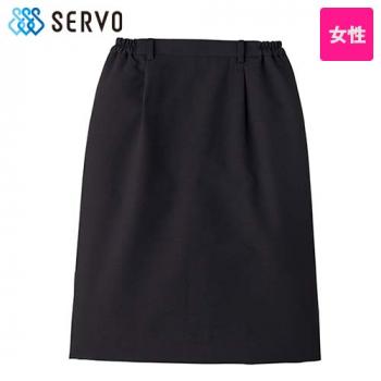 [サンペックス]飲食 スカート(脇ゴム入