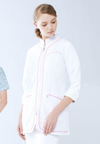 ホワイト×ピンクの着用例