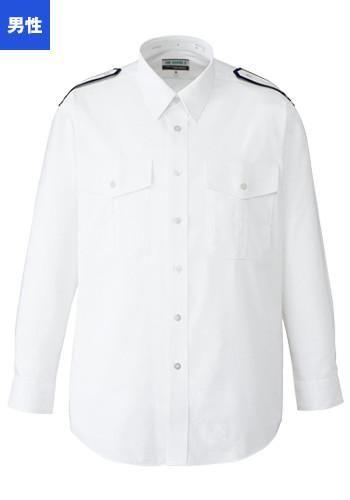 [フェローズ]フォーマル 長袖シャツ(肩