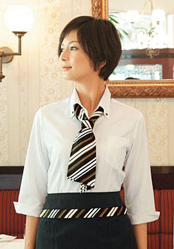 黒×白×ゴールドの着用例