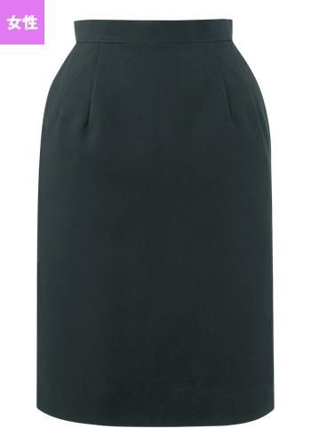 [SWING]飲食 スカート(黒)(女性
