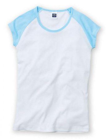 リブカップスリーブTシャツ(カラー)