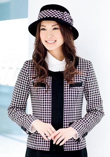 ブラック×ピンクの着用例