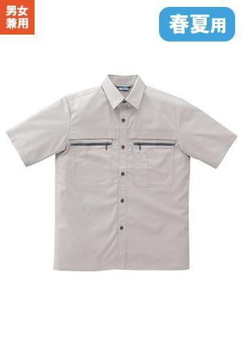 [クロダルマ]作業服 半袖シャツ TC