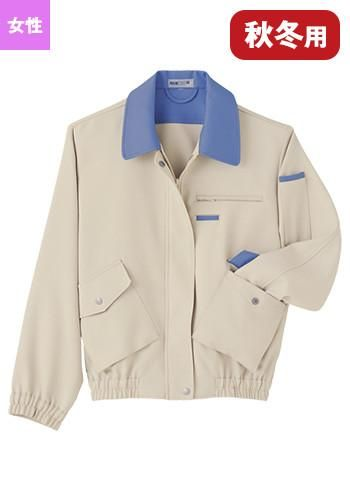 [ペチクール]作業服 ブルゾン(女性用)