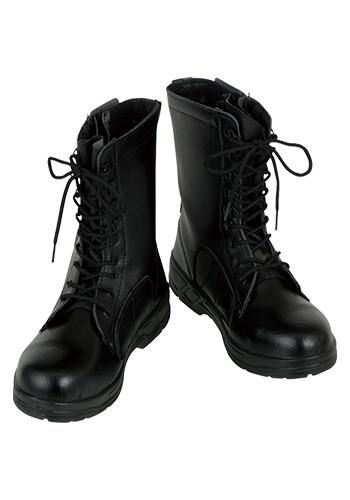 [コーコス]安全靴 長編みファスナー付