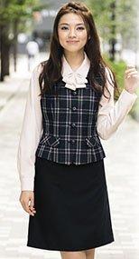 S-15920 SELERY(セロリー) 魅せスカート(メリハリキレイ) 無地 99-S15920