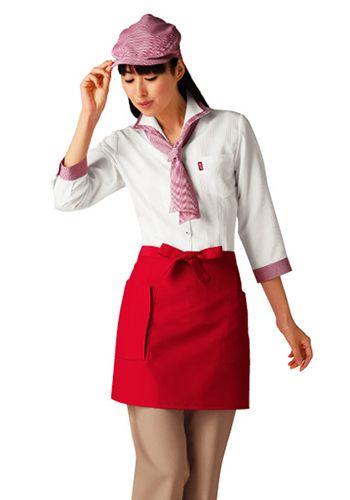 白×赤の着用例