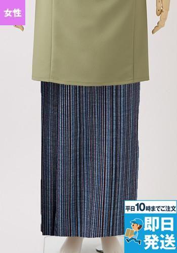 和風ラップスカート(女性用・腰ヒモ式)