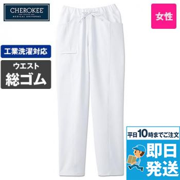 CH351 FOLK(フォーク)×CHEROKEE(チェロキー) スクラブパンツ 総ゴム