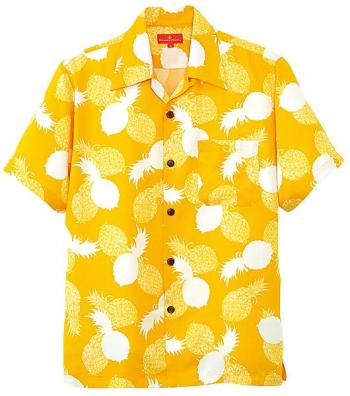 アロハシャツ(パイナップル柄)