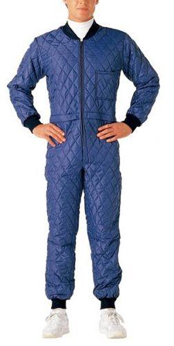 腰割れ式長袖キルトスーツ