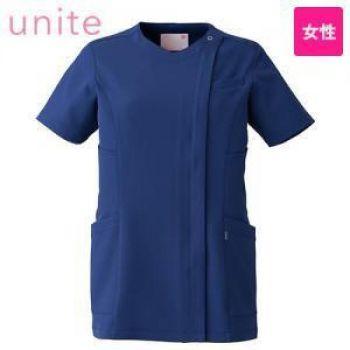 UN-0048 UNITE(ユナイト) 浅めVネック スクラブ(女性用)