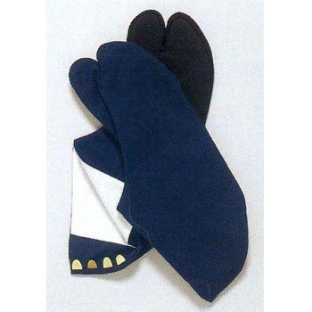 紺足袋(黒布底)