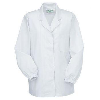 [コーコス]飲食 長袖 調理白衣(女性用
