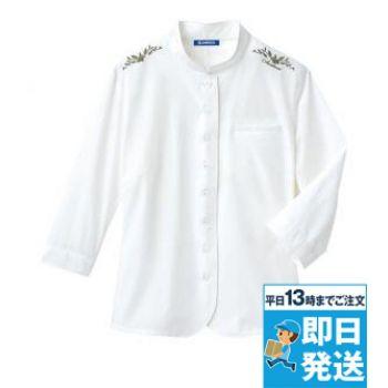 スタンダードカラーシャツ(七分袖)[女]