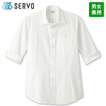 ET-5731 5732 5733 5734 SUNPEX(サンペックス) 七分袖ショップシャツ(男女兼用)