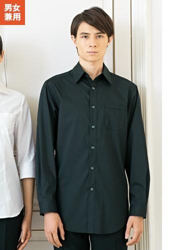 [SWING]飲食 シャツ(黒) 長袖
