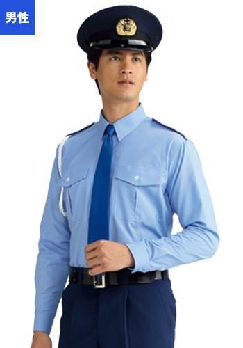 [フェローズ]フォーマル 長袖 シャツ(