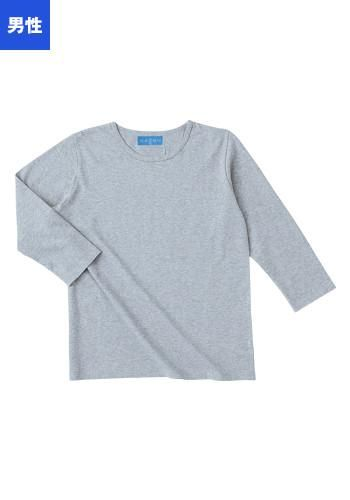 [本間遊]飲食 七分袖Tシャツ(男性用)