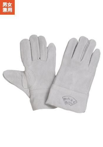 [一旦、非表示][おたふく手袋]床革内縫