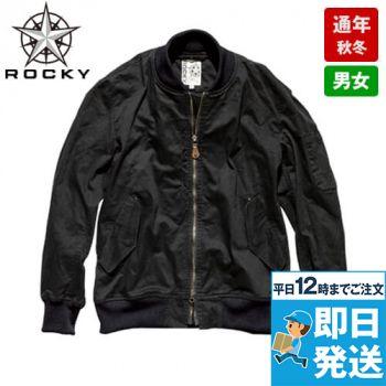 RJ0908 ROCKY ツイルMA-1ミリタリージャケット