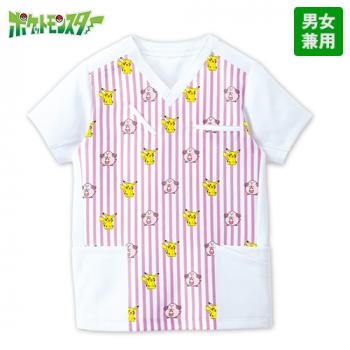 PSCU1924 ポケットモンスター スクラブ(男女兼用)