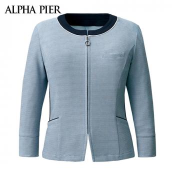 AR7608 アルファピア ライトジャケット/七分袖