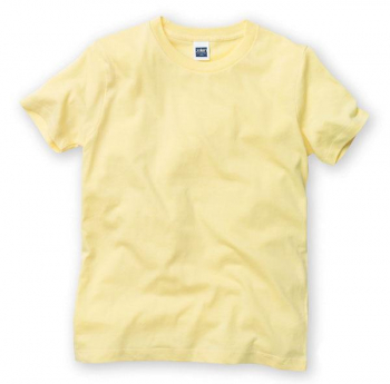 ジャージィークルーネックTシャツ(カラー