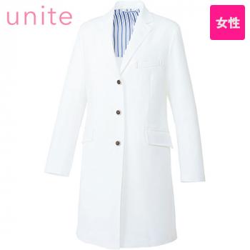 UN-0079 UNITE(ユナイト) 長袖ドクターコート(女性用)