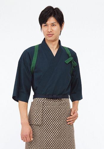 グリーンの着用例