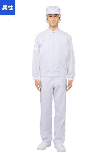 [ユニベル]食品工場白衣 パンツ(男性用