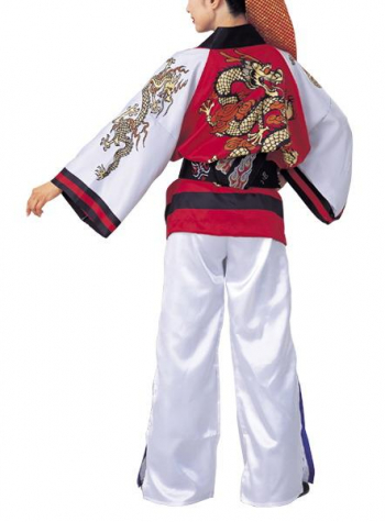 ショート丈袢天(須印)