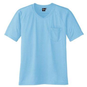 冷感・吸汗速乾半袖VネックTシャツ ボデ