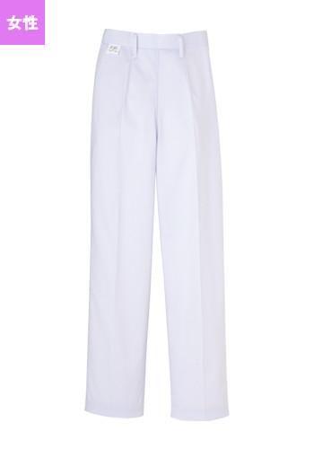 [ユニベル]食品工場白衣 パンツ(女性用