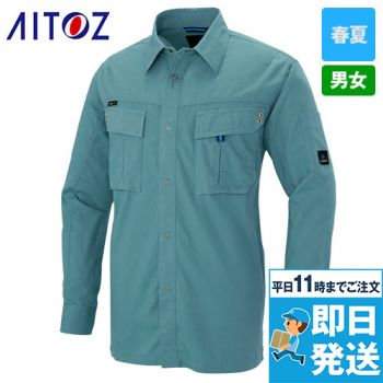 AZ-60735 アイトス 長袖シャツ(男女兼用)