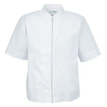 食品工場 半袖白衣