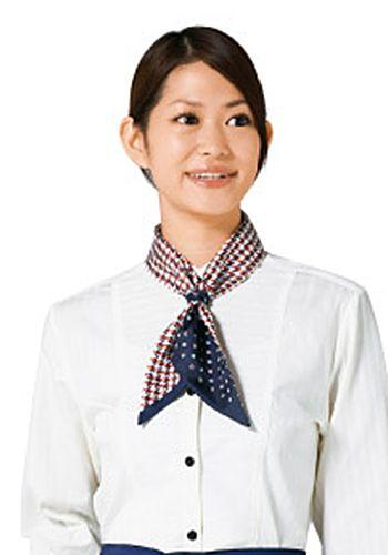 紺×白の着用例