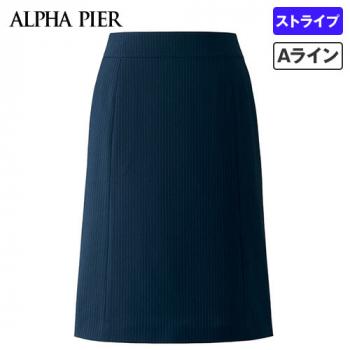 AR3668 アルファピア Aラインスカート ストライプ 40-AR3668