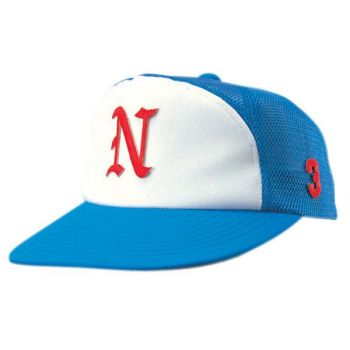 ニットバックメッシュ丸ワイド型野球帽(ア